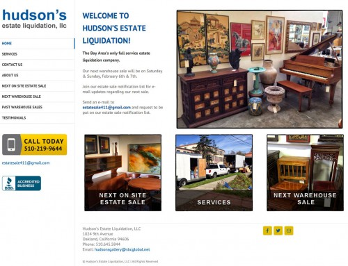 Hudson Estate Liquidations, LLC